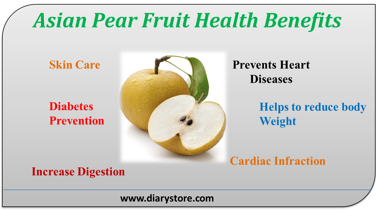 Asian pear nutritional facts