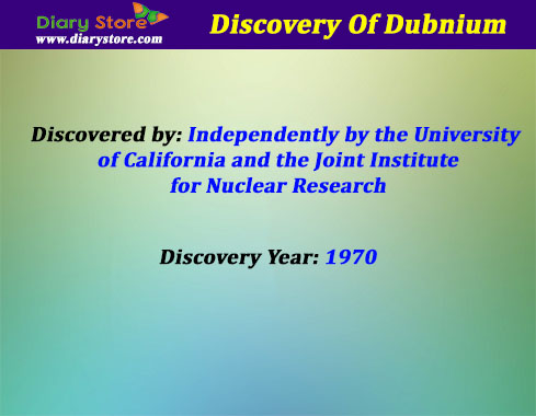 Dubnium element in periodic table atomic number atomic mass dubnium element information urtaz Images