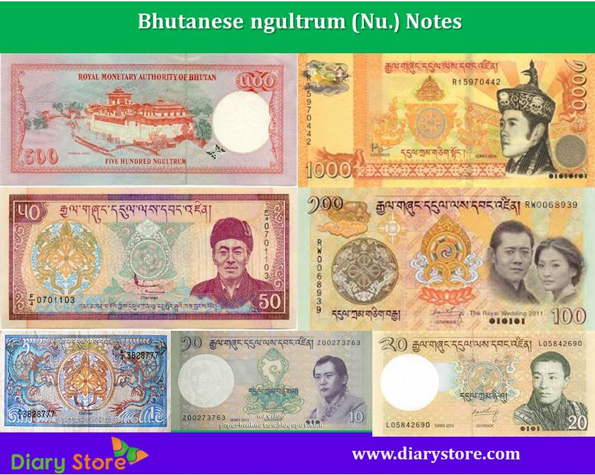 Bhutanese ngultrum currency | Bhutan Bank Notes