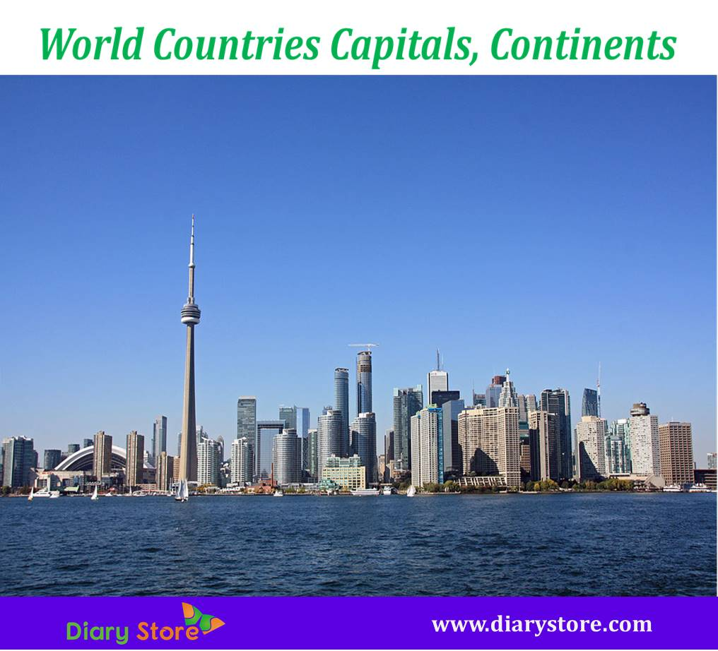 World Countries Capitals Capital Cities In The World Diary Store - World countries and capital cities