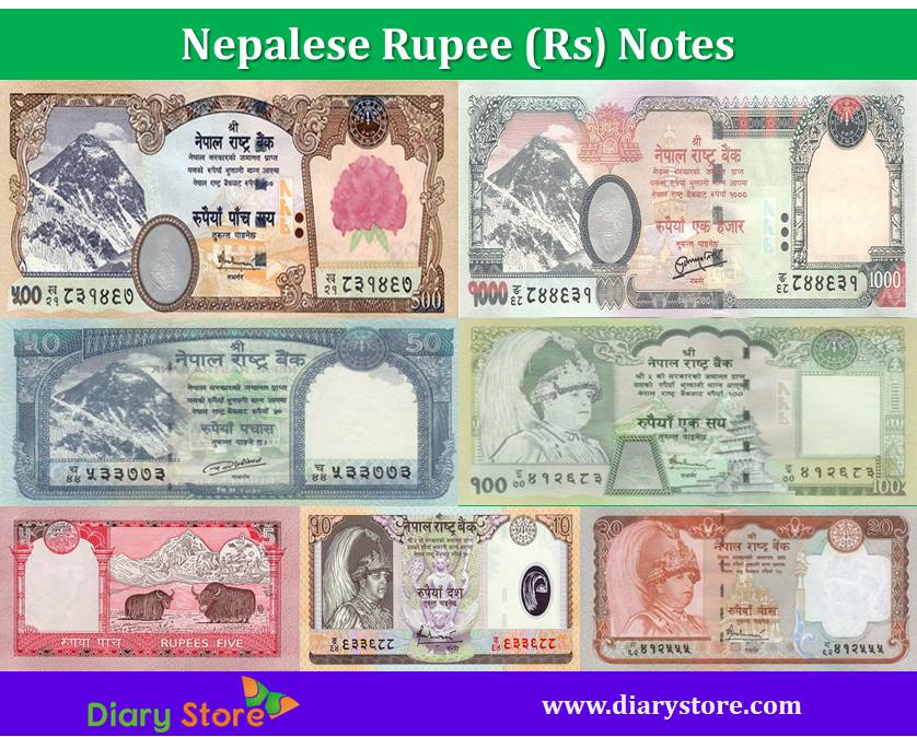 Nepalese Ru Currency Nepal