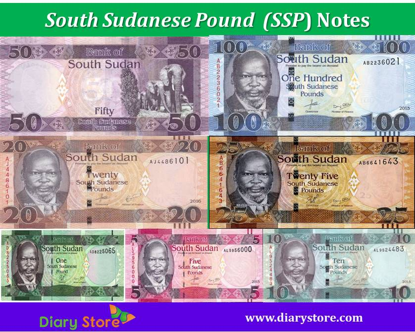 South Sudanese Pound Currency Sudan Ssp