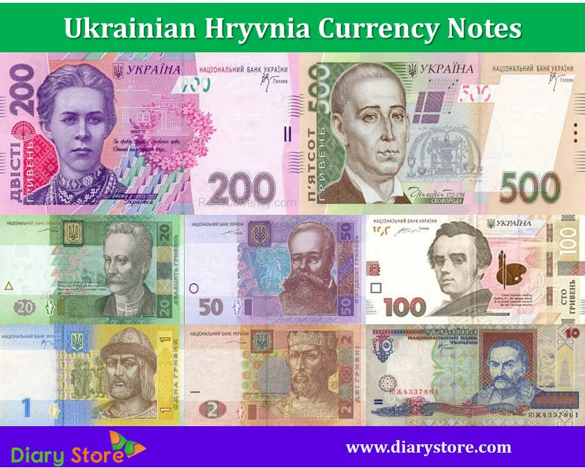 Ukrainian Hryvnia Currency Ukraine Ukraine Banknotes