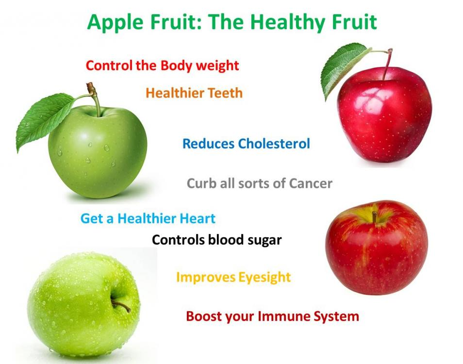 Apple fruit nutrition facts health benefits