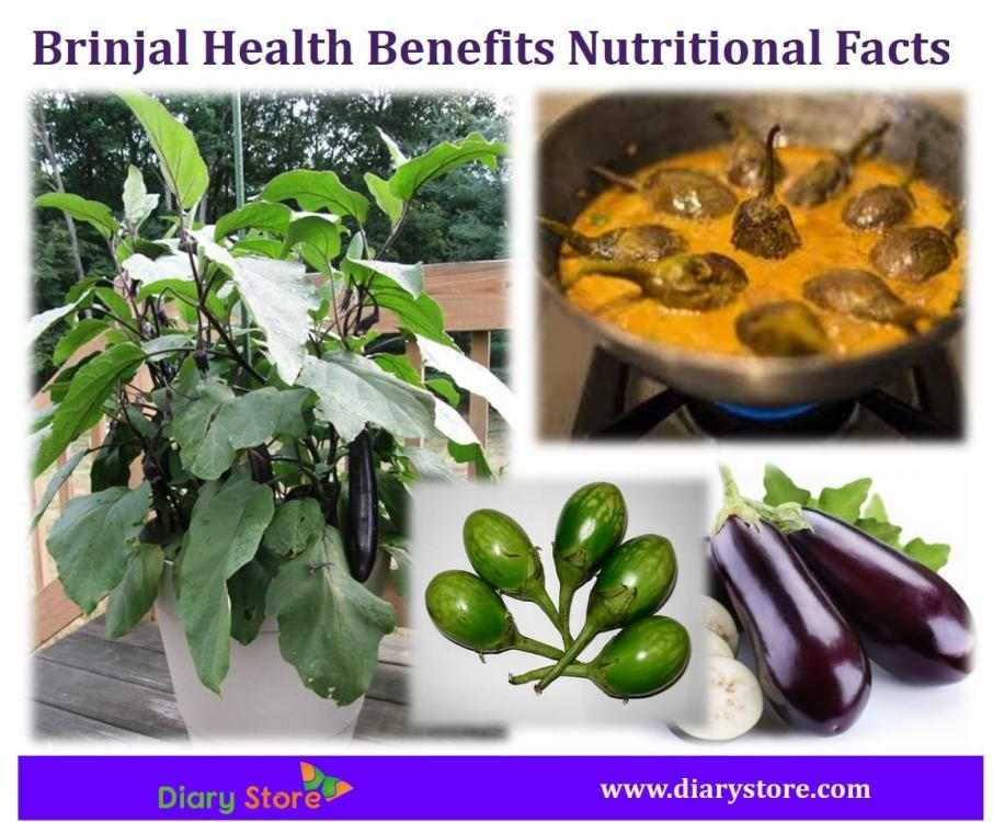 Brinjal Health Benefits Nutritional Facts
