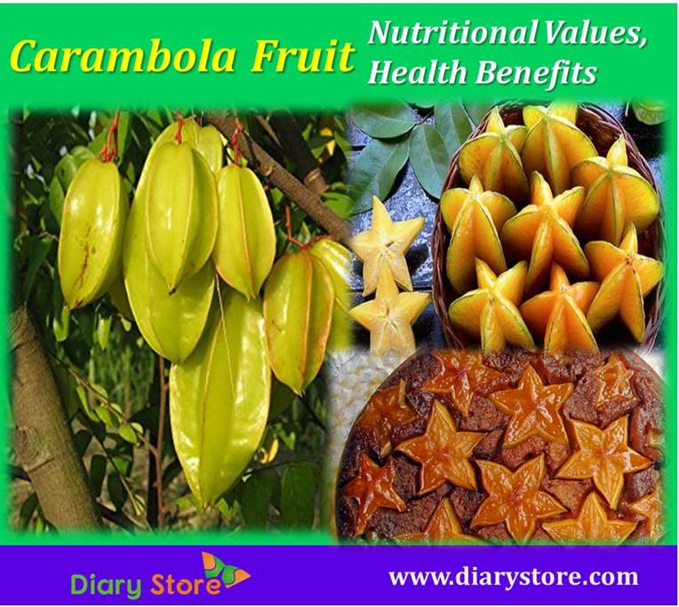 Carambola Fruits