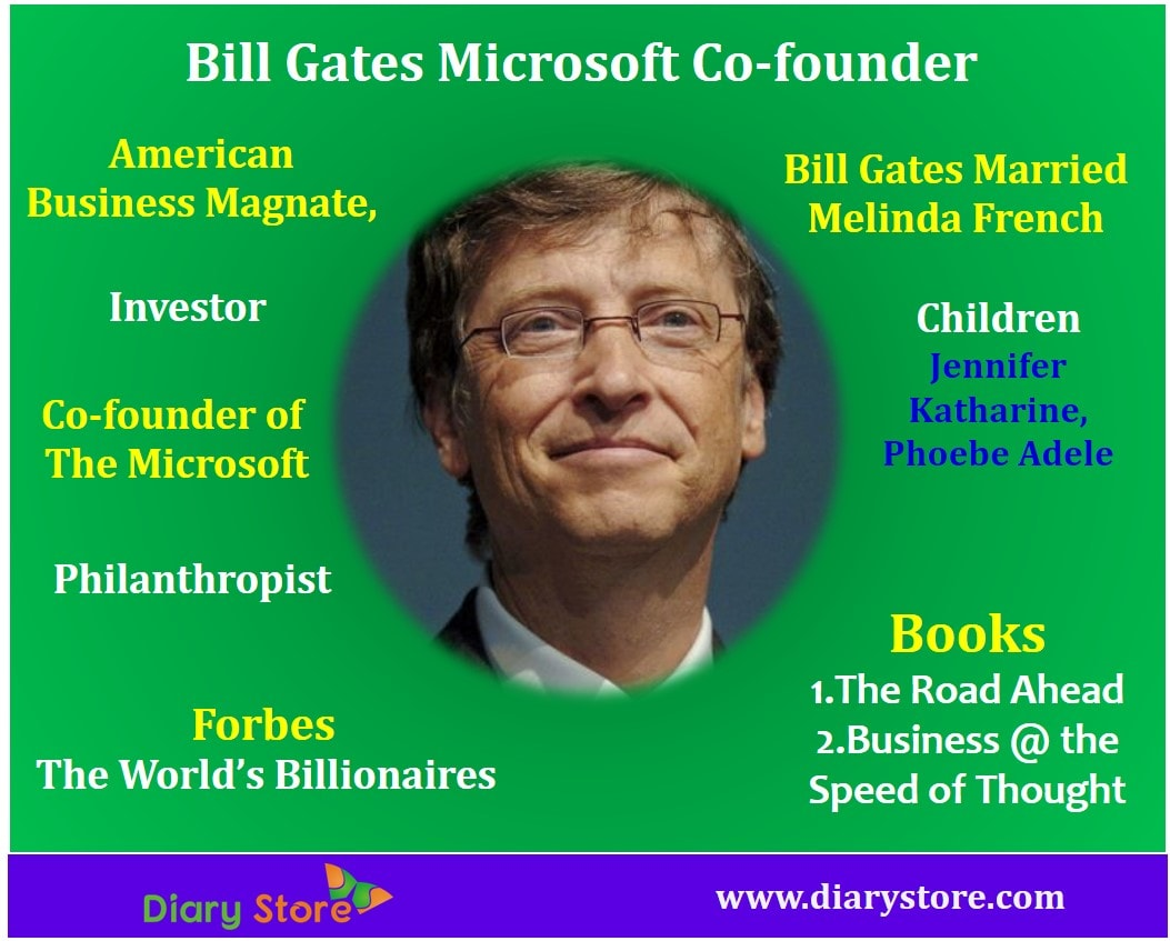Bill Gates Microsoft Co Founder Biography