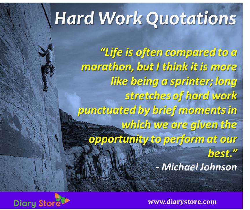 Hard Work Quotes On Hard Work Inspirational Quotations Simple Work Inspirational Quotes