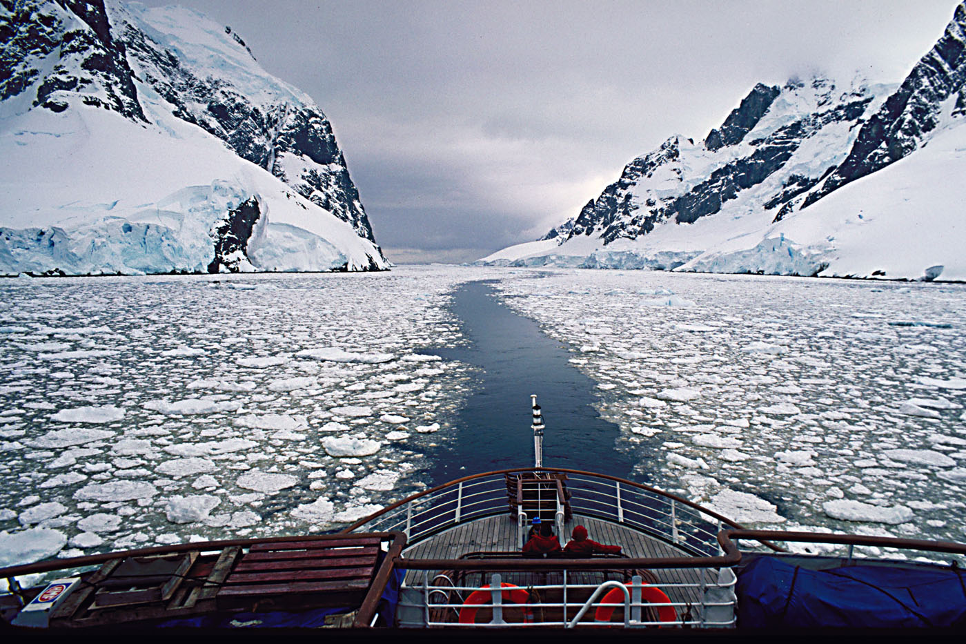 how to get to antarctica from england