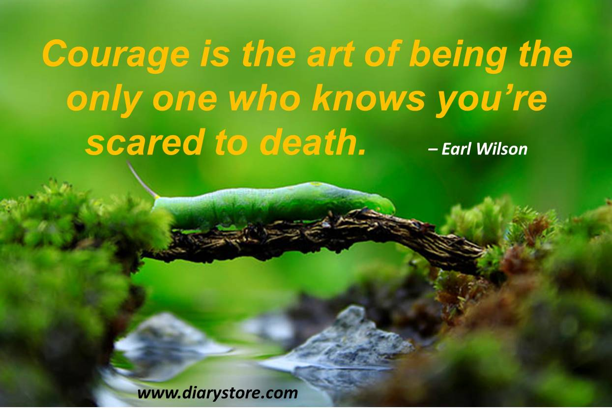Amazing Courage Quotations