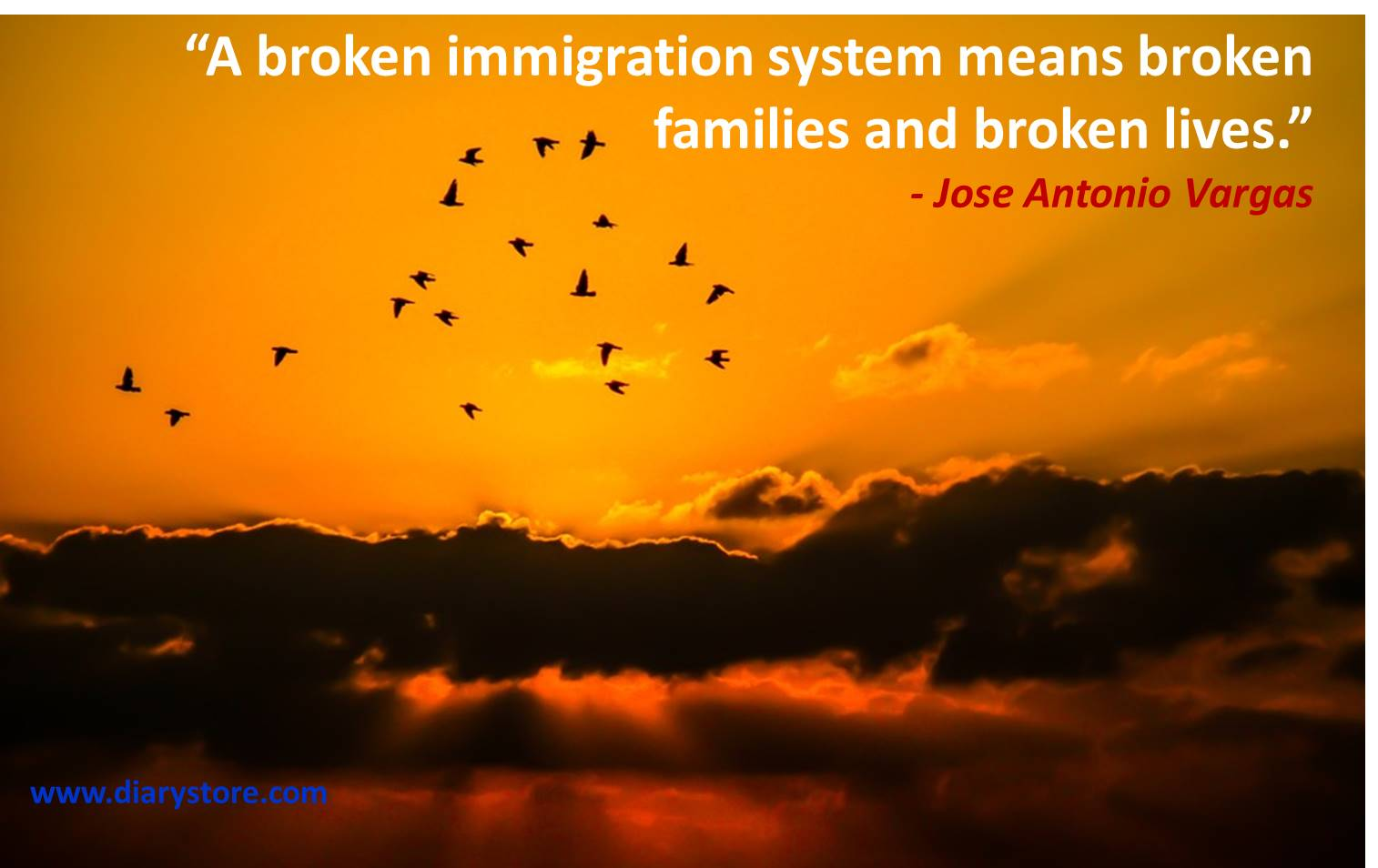Immigration Quotes | Country Immigration Quotations | Diary ...