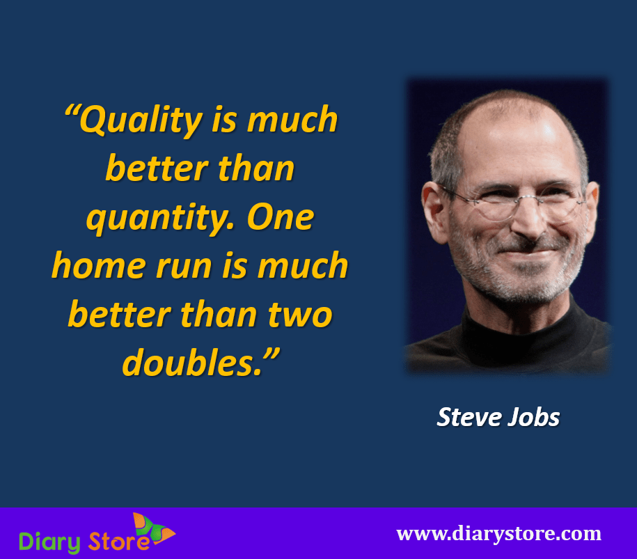 Steve Jobs Quotations |Most Inspirational Quotes |Diary Store