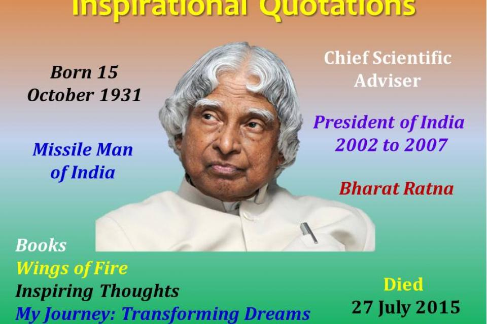 contributions of a p j abdul kalam towards space Avul pakir jainulabdeen abdul kalam (/ˈæbdəl kəˈlɑːm/ ( listen) 15 october 1931 - 27 july 2015) was an indian scientist who served as the 11th president of india from 2002 to 2007.