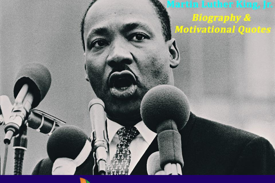 biography of martin luther king jr Martin luther king jr was a baptist minister and social activist, who led the civil rights movement in the united states from the mid-1950s until his death by assassination in 1968.