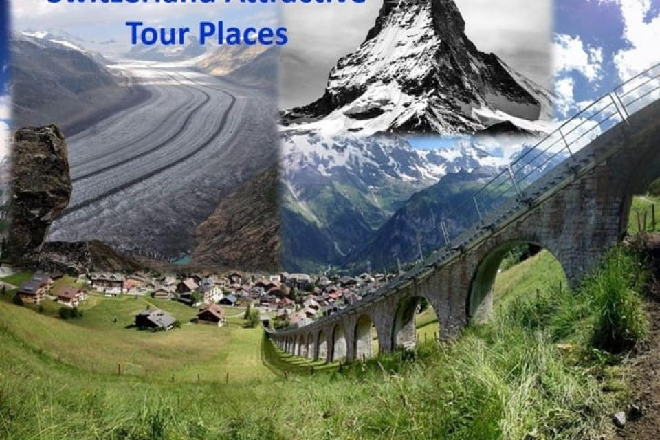 Switzerland Attractive Tour Places