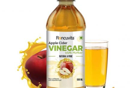 Apple cider vinegar with mother for weight loss