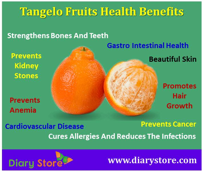 Tangelo Fruit